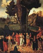 Giorgione THe Judgment of Solomon oil painting