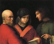 The Singing Lesson, Giorgione