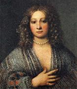 Portrait of a Woman, Girolamo Forabosco