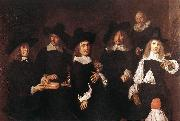 HALS, Frans Regents of the Old Men's Almshouse oil painting on canvas