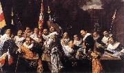 HALS, Frans Officers and Sergeants of the St Hadrian Civic Guard oil painting on canvas