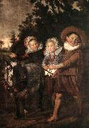 HALS, Frans Group of Children oil painting reproduction