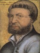 Hans holbein the younger Self-Portrait oil painting reproduction