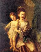 Hone, Nathaniel Anne Gardiner with her Eldest Son Kirkman