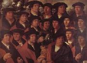 Group Portrait of the Arquebusiers of Amsterdam