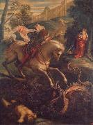 Jacopo Tintoretto St.George and the Dragon oil painting