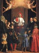 Jacopo da Empoli St.Ivo,Protector of Widows and Orphans oil painting