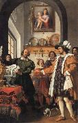 Jacopo da Empoli The Integrity of St. Eligius oil painting