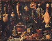 Jacopo da Empoli Still Life with Game oil painting