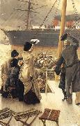 Good-bye-On the Mersey, James Tissot