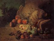 Jean Baptiste Oudry Still Life with Fruit
