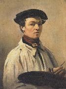 Jean-Baptiste Corot Self-Portrait oil painting reproduction