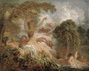 The Bathers, Jean-Honore Fragonard
