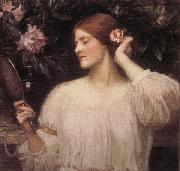 Gather Ye Rosebuds While Ye May, John William Waterhouse