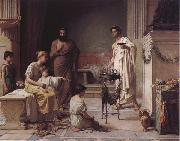 A Sick Child Brought into the Temple of Aesculapius, John William Waterhouse