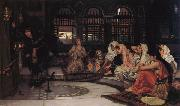Consulting the Oracle, John William Waterhouse