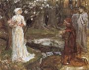 Dante and Beatrice, John William Waterhouse