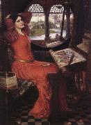 i am Half-Sick of Shadows said the Lady of Shalott, John William Waterhouse