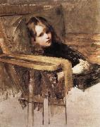 The Easy Chair, John William Waterhouse