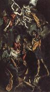 El Greco The Adoration of the Shepherds oil painting