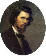 Kramskoy, Ivan Nikolaevich Self Portrait oil painting