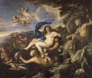 Luca Giordano he Triumph of Galatea,with Acis Transformed into a Spring oil painting