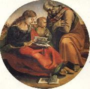 Luca Signorelli The Holy Family oil painting reproduction