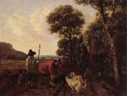 Ludolf de Jongh Hunters and Dogs