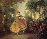 Nicolas Lancret The Dancer Camargo