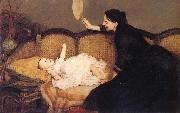 Orchardson, Sir William Quiller Master Baby oil painting