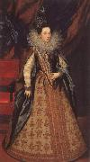 POURBUS, Frans the Younger Margarita of Savoy,Duchess of Mantua oil painting artist