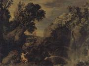 Paul Bril Landscape with Psyche and Jupiter oil painting