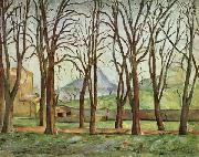 Chestnut Trees at the jas de Bouffan, Paul Cezanne