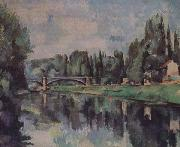 Bridge over the Marne, Paul Cezanne