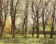 Chestnut Trees at the jas de Bouffan in Winter, Paul Cezanne