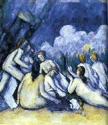 Paul Cezanne Les Grandes Baigneuses oil painting on canvas