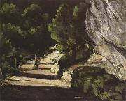 Paul Cezanne Landscape oil painting reproduction