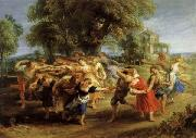 A Peasant Dance, Peter Paul Rubens