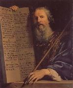 Moses with th Ten Commandments, Philippe de Champaigne