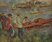 Boating Party at Chatou, Pierre Renoir