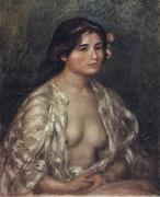 Female Semi-Nude, Pierre Renoir