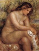 Bather Drying her Leg, Pierre Renoir