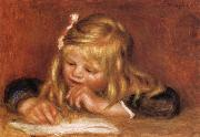 Coco Reading, Pierre Renoir