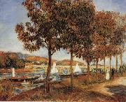 The Bridge at Argenteuil in Autunn, Pierre Renoir