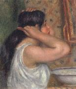 The Toilette Woman Combing Her Hair, Pierre Renoir