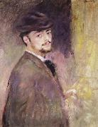 Self-Portrait at the Age of Thirty-five, Pierre Renoir