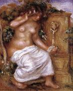 The Bather at the Fountain, Pierre Renoir