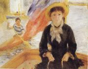 Girl in a Boat, Pierre Renoir