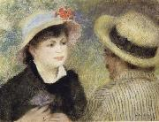 Boating Couple (Aline Charigot and Renoir), Pierre Renoir