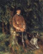 Alfred Berard and his Dog, Pierre Renoir